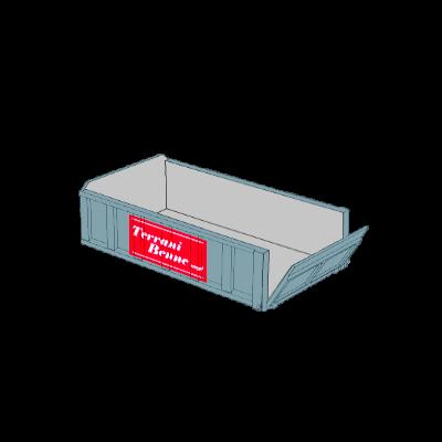Benne e contenitori - Cassone basso 4.5mc