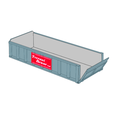 Benne e contenitori - Cassone scarrabile 10mc