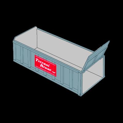 Benne e contenitori - Cassone scarrabile 20mc