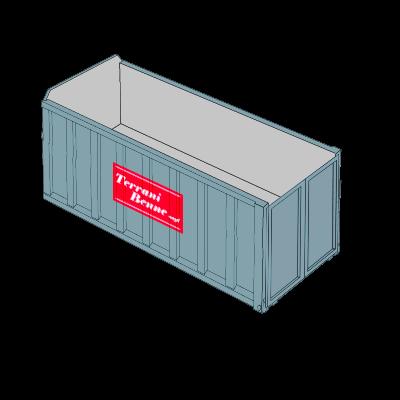 Benne e contenitori - Cassone scarrabile 38mc